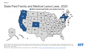 State Paid Family and Medical Leave Laws, 2020